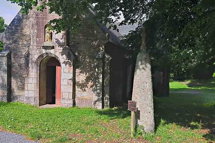 La chapelle Notre-Dame de Lanriot à Moelan sur mer